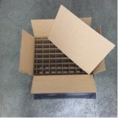 Corrugated Partitioned Packaging
